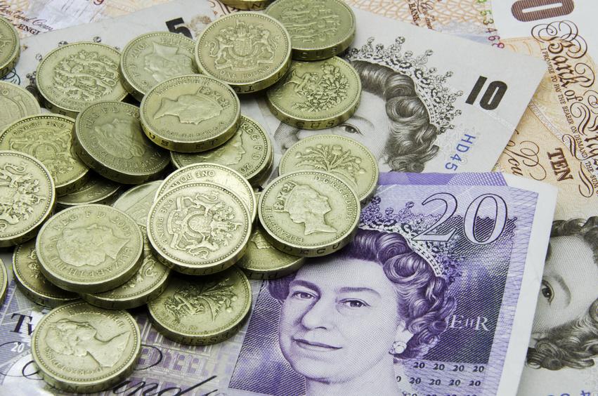 britiske pund til norske kroner