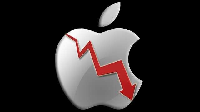 Apple-stock-falling